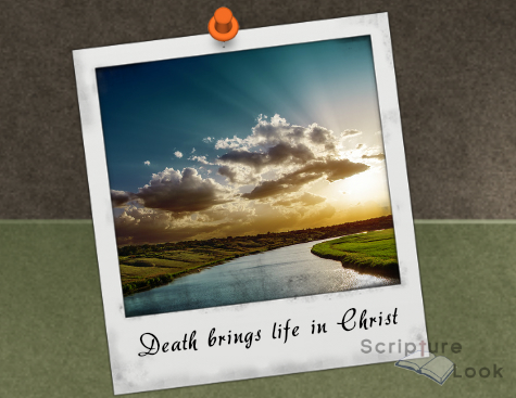 Death Brings Life In Christ