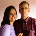 Personal picutre of Scripture Look author, Ann Marie, with husband.