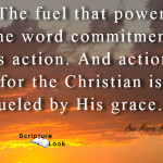 Commitment Powerful Word