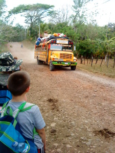 Bus to Matagalpa