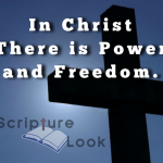 In Christ there is Freedom