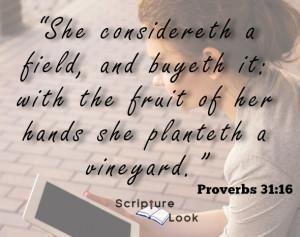 Proverbs 31_16