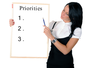 Time Management Tip: Setting Priorities